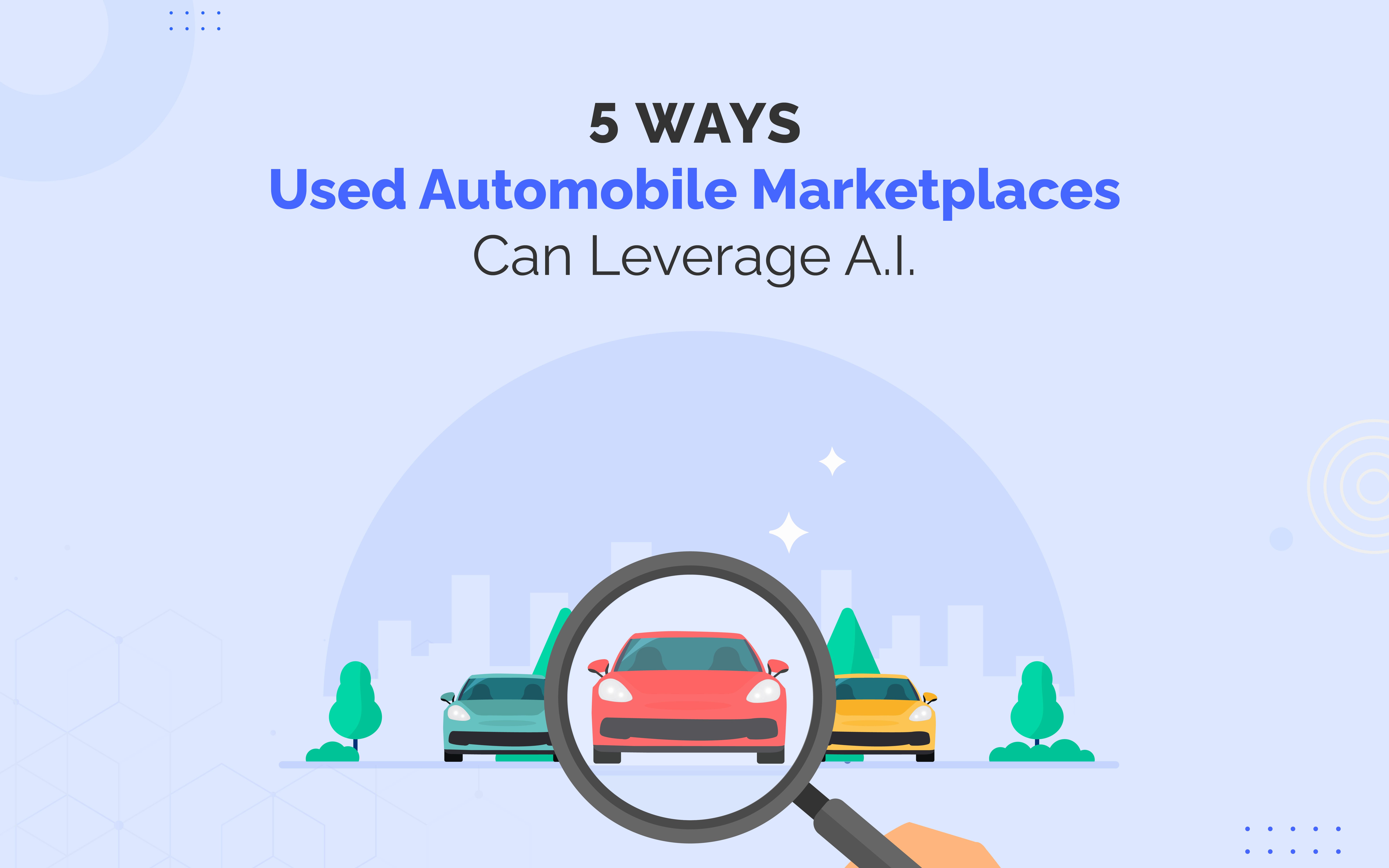 AI for used car marketplaces, blox.ai, getblox.ai, image moderation, lead scoring